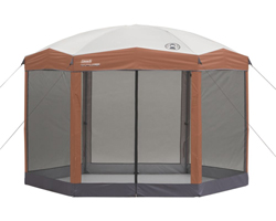 Coleman View All Tents colema shelter 12x10 back home screened