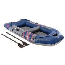 Sevylor sevylor colossus 3 person inflatable boat with oars