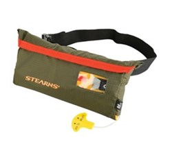 Stearns stearns 33 gram manual inflatable belt pack green