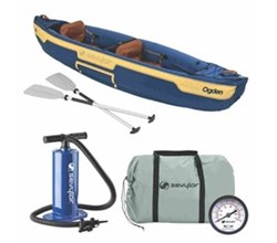 Kayaks sevylor ogden 2 person canoe combo