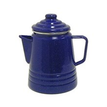 Coleman Kitchen and Furniture coleman 9 cup enamelware percolator