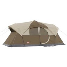 Coleman shop by size 10 and Up coleman weathermaster 9 person hinged door tent
