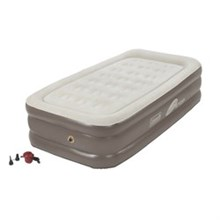 Coleman Twin Size  coleman supportrest plus pillowstop double high twin size airbed