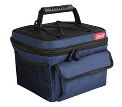 Coleman Soft Coolers coleman 10 can rugged lunch box cooler blue black