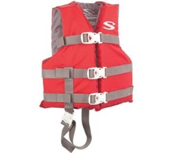 Stearns stearns classic series child life vest red
